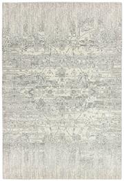 Sale 8651C - Lot 47 - Colorscope Collection; NZ Wool and Pure Silk - Cream/Silver Classic/Floral Rug, Origin: China, Size: 160 x 230cm, RRP: $1899