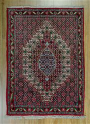 Sale 8657C - Lot 64 - Persian Bijar 104cm x 75cm