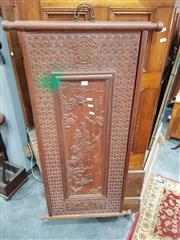 Sale 8700 - Lot 1067 - Chinese Carved Panel