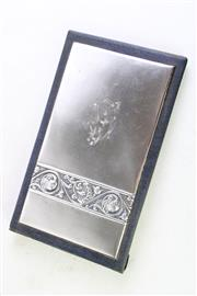 Sale 8894 - Lot 328 - Russian Silver Notepad
