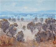 Sale 9001 - Lot 572 - J. Colin Angus (1907 - 2002) - Dry County, Landscape, 1989 44.5 x 52.5 cm (frame: 62 x 71 x 5 cm)