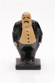 Sale 9057 - Lot 69 - A Cast Iron Figure of A Gent (H 13cm)