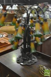 Sale 8284 - Lot 1084 - Multi Branch Table Lamp