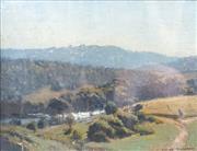 Sale 8510 - Lot 585 - Albert Sherman (1882 - 1971) - Milking Time 18 x 24cm