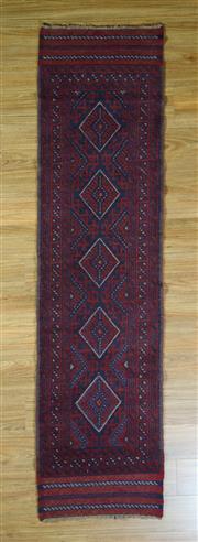 Sale 8672C - Lot 38 - Persian Baluchi Runner 260cm x 60cm