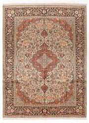 Sale 8790C - Lot 17 - A Very Fine Kashmiri Silk Pile, 337 x 252cm