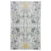 Sale 8912C - Lot 23 - Turkish Woven Space Carpet Collection 01, Beige/Gold, 200x300cm, Viscose/Acrylic