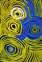 Sale 8321 - Lot 539 - Minnie Pwerle (1922 - 2006) - Anmatyerre 90 x 60cm