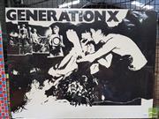 Sale 8421 - Lot 1062 - Vintage and Original Generation X Promotional Poster (57cm x 75cm)
