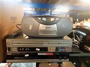 Sale 8663 - Lot 2196 - 2 DVD Players & Radio/CD Player