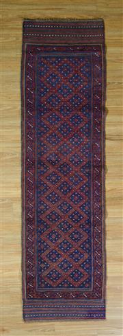 Sale 8672C - Lot 39 - Persian baluchi 260cm x 60cm
