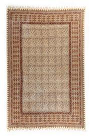 Sale 8715C - Lot 138 - A Piece Of Handmade Wood Block Printed Cotton With Fringing, Washable And Useable As A Table Cloth, Drapes, Etc, 280 x 184cm