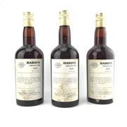 Sale 8804W - Lot 60 - 3x Hardys Private Bin M45 Port - 1960s bottling