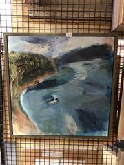 Sale 8861 - Lot 2068 - Yaeli Ohara Inlet 1, 1999oil on canvas, signed