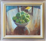 Sale 8964 - Lot 2002 - Christine Crimmins The Yellow Bookoil on canvas on board, 46 x 52cm (frame), signed