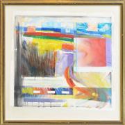 Sale 8286 - Lot 595 - Lukas Van Vuuren (1939 - 2003) - Paint Box, 1983 83 x 83cm