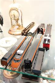 Sale 8322 - Lot 98 - TGV Model Trains with Others incl. Tri-ang