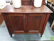 Sale 8447 - Lot 1072 - Timber 2 Door Sideboard