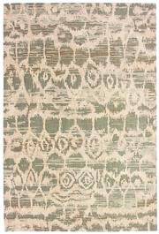 Sale 8651C - Lot 50 - Colorscope Collection; NZ Wool and Pure Silk - Beige/Green Modern Rug, Origin: China, Size: 160 x 230cm, RRP: $1899