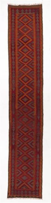 Sale 8790C - Lot 71 - A Persian Kilim, 482 x 86cm
