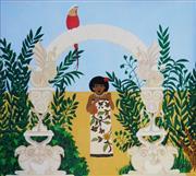 Sale 8867A - Lot 5022 - Loretta Coghlan - The Ivory Doorway 1983 30 x 32cm