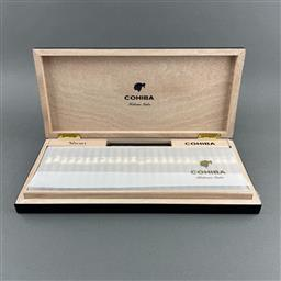 Sale 9142W - Lot 1077 - Cohiba 50 Shorts Cuban Cigars - 2020 limited edition humidor with 50 cigars