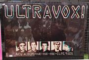 Sale 8421 - Lot 1029 - Vintage and Original Ultravox Promotional Poster (50.5cm x 76cm)
