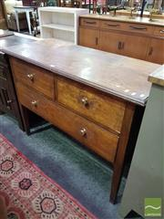 Sale 8532 - Lot 1051 - Timber Sideboard with Three Drawers