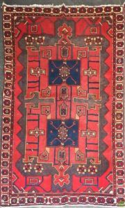 Sale 8601 - Lot 1275 - Persian Hamadan (297 x 199cm)