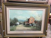 Sale 8720 - Lot 2073 - John Vander - Sofala oil on canvas board, 39.5 x 60cm, signed lower left