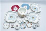 Sale 8869 - Lot 47 - Collection of Ceramics Incl. Wedgwood, Limoges, and Coalport