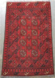 Sale 9071 - Lot 1082 - Persian Hand Knotted Woollen Turkoman (130 x 80cm)