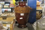 Sale 8324 - Lot 63 - Bronze Painted Vase