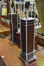 Sale 8361 - Lot 1080 - Pair of Modern Table Lamps