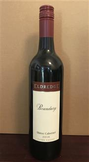 Sale 8520W - Lot 53 - 12x 2016 Eldredge 'Boundary' Shiraz Cabernet, Clare Valley 'A classic Clare Red, for any dinner table this winter'  The Bounda...