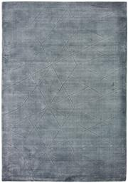 Sale 8651C - Lot 52 - Colorscope Collection; Viscose and Cotton Handloomed - Steel Grey Rug, Origin: India, Size: 160 x 230cm, RRP: $999