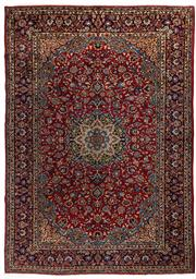 Sale 8715C - Lot 16 - A Persian Najafabad From Isfahan Region, 100% Wool Pile On Cotton Foundation, 280 x 380cm