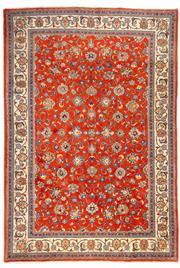 Sale 8780C - Lot 282 - A Persian Sarough 100% Wool Pile, 290 x 200cm
