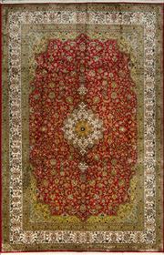 Sale 8353C - Lot 55 - Super Fine Kashmiri Silk 185cm x 280cm