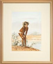 Sale 8449A - Lot 519 - Helen Baldwin (1912 - XX) - Pristilla 51.5 x 39cm