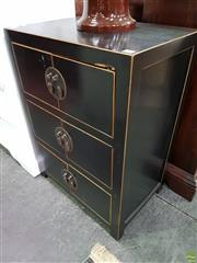 Sale 8562 - Lot 1095 - Oriental Cabinet with 4 Doors