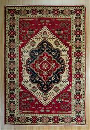 Sale 8657C - Lot 68 - Afghan Kazak 155cm x 102cm