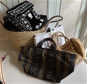 Sale 8510A - Lot 94 - a small quantity of handbags including Fendi, (some mould)