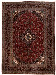 Sale 8715C - Lot 22 - A Persian Kashan From Isfahan Region, 100% Wool Pile On Cotton Foundation, 291 x 395cm