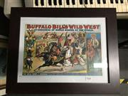 Sale 8726 - Lot 2068 - Collection of Caricatures and a Buffallo Bill Print