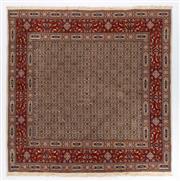 Sale 8780C - Lot 283 - An Iranian Mood Rug, Khorasan Region, Very Fine Wool And Silk Pile., 200 x 200cm