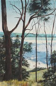 Sale 8870 - Lot 2059 - Marion Schumacher - View to the Sparkling Sea 75 x 49cm