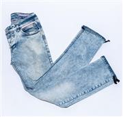 Sale 8891F - Lot 58 - A pair of Christian Dior acid wash denim jeans, approx size 10