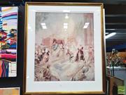 Sale 8449 - Lot 2021 - Norman Lindsay - City of Joy Print 231/600; 59.5 x 51.5cm