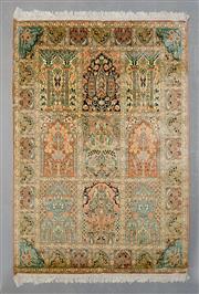Sale 8499C - Lot 86 - Kasdmiri Silk 186cm x 122cm